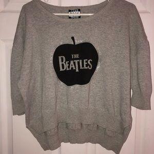 Beatles crop top no size-possibly a medium